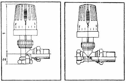 1 – управляющая (верхняя часть